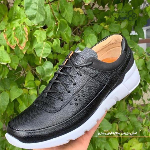 کفش ماشینی مدل ایتالیایی بندی